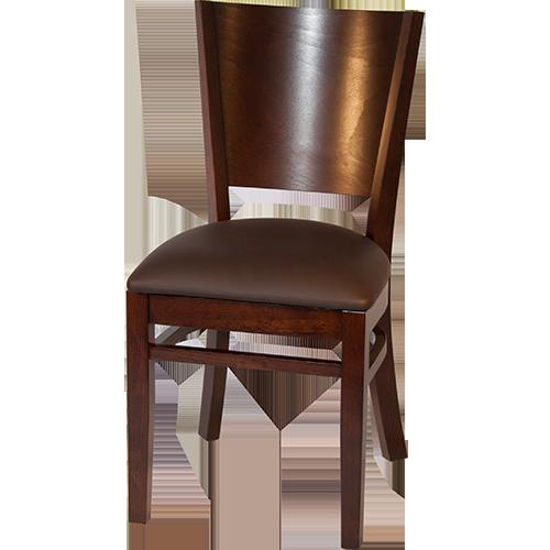 lynn mit polster beige restaurantstuhl restaurantst hle. Black Bedroom Furniture Sets. Home Design Ideas